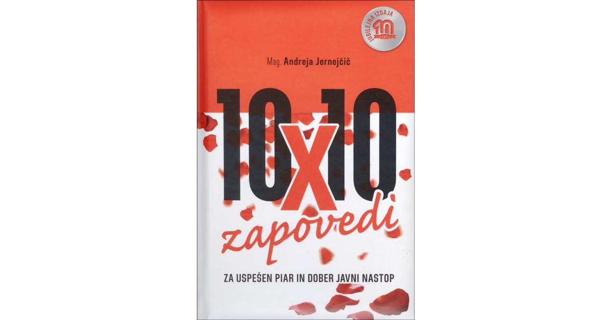 10 x 10 zapovedi za uspešen piar in dober javni nastop - Andreja Jernejčič | Fundacionsinadep.org