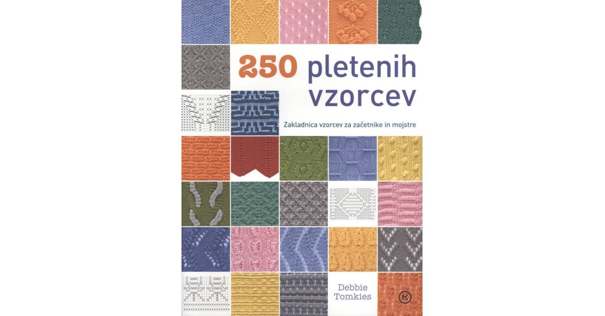 250 pletenih vzorcev - Debbie Tomkies | Menschenrechtaufnahrung.org