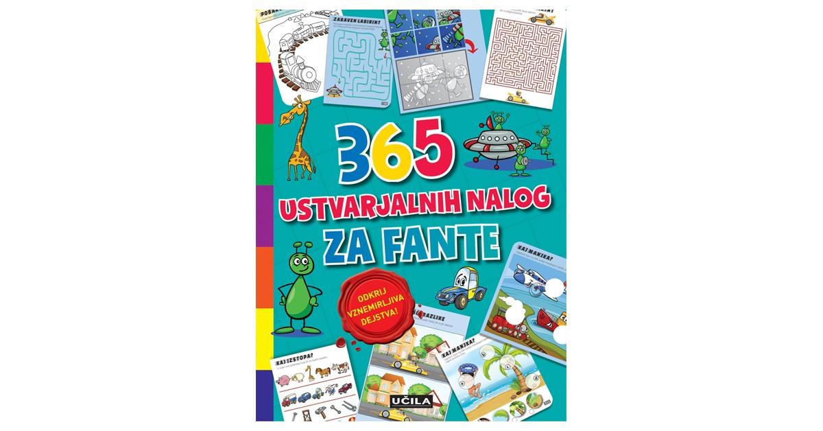 365 ustvarjalnih nalog za fante