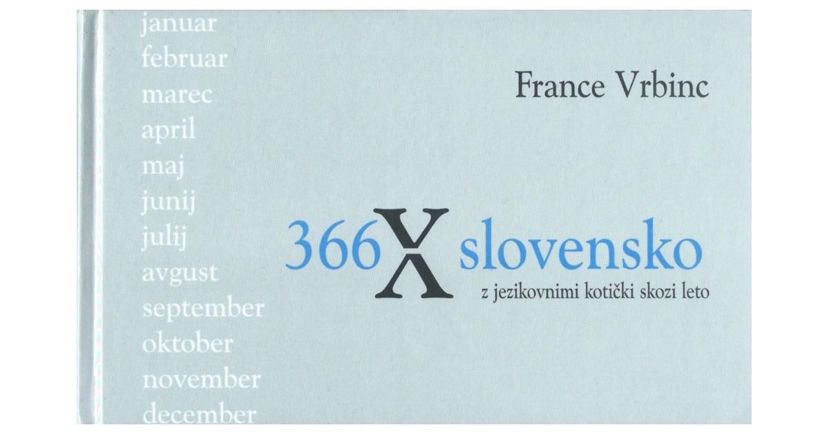 366 X slovensko - France Vrbinc | Menschenrechtaufnahrung.org