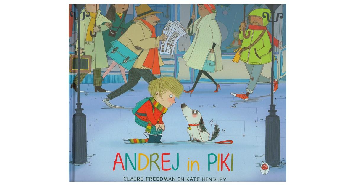 Andrej in Piki - Claire Freedman | Fundacionsinadep.org