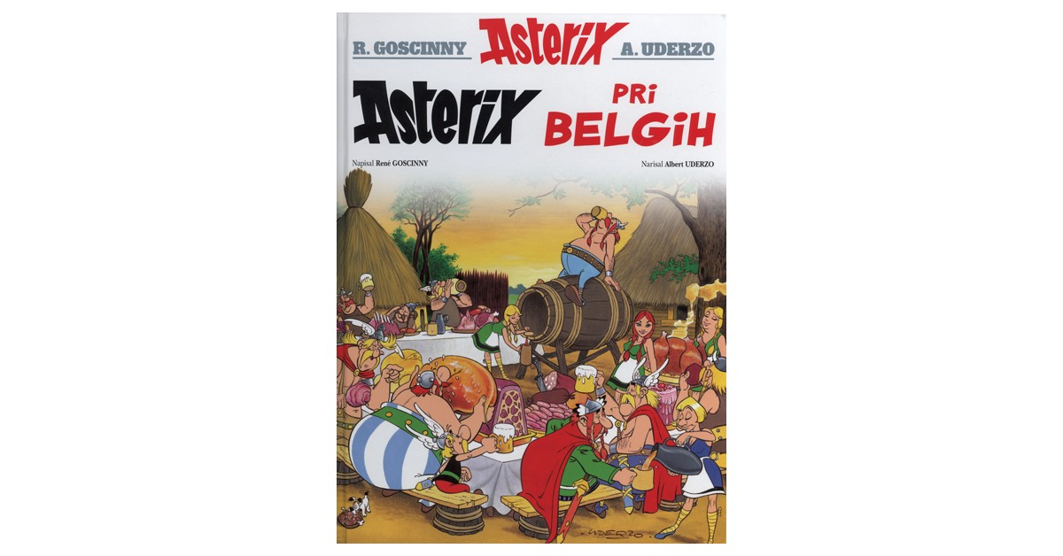 Asterix pri Belgih - René Goscinny | Fundacionsinadep.org