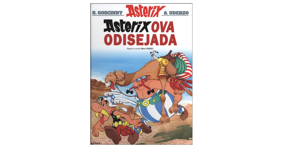 Asterixova odisejada - Albert Uderzo | Fundacionsinadep.org