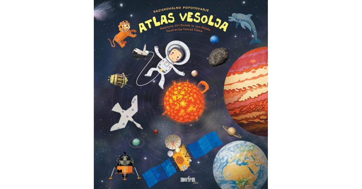 Atlas vesolja - Jiři Dušek, Jan Píšala   Fundacionsinadep.org