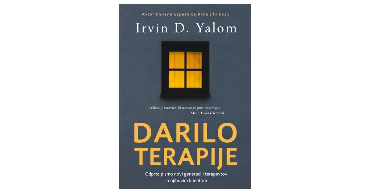 Darilo terapije - Irvin D. Yalom   Fundacionsinadep.org