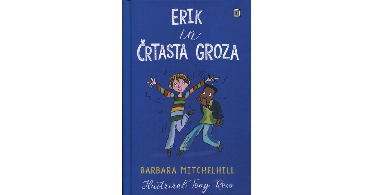 Erik in črtasta groza - Barbara Mitchelhill   Menschenrechtaufnahrung.org