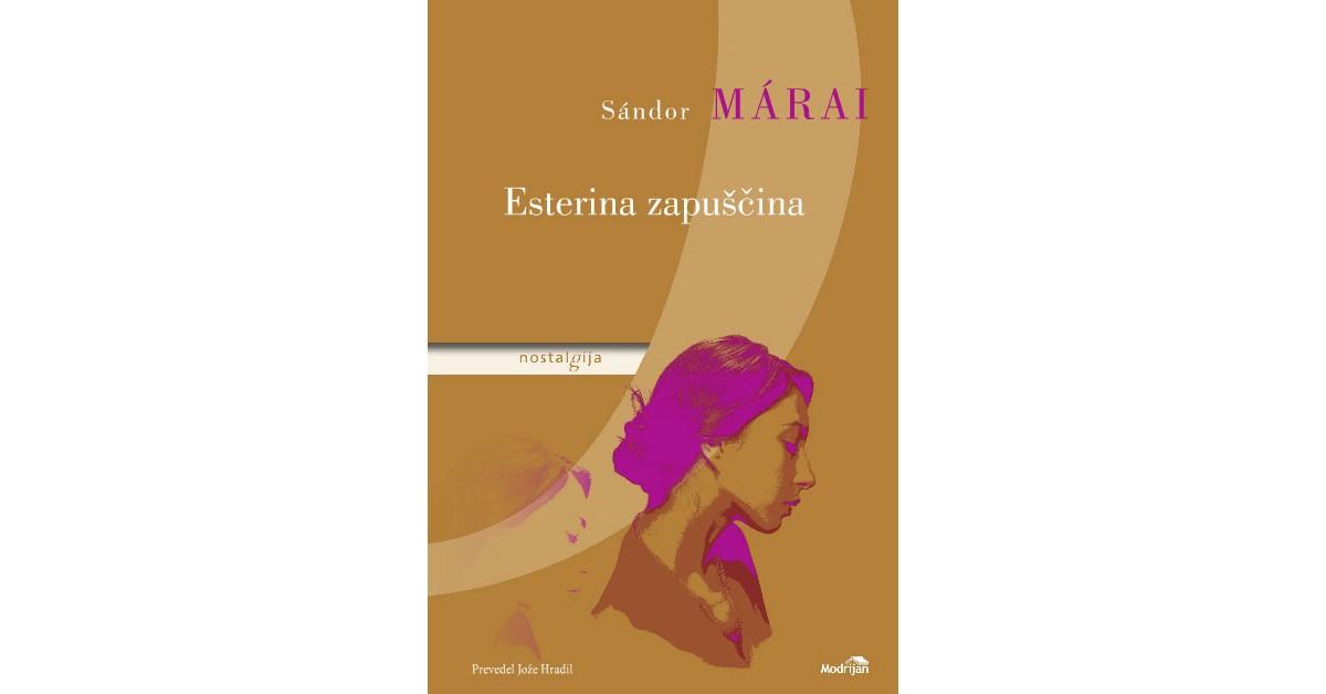 Esterina zapuščina - Sándor Márai | Fundacionsinadep.org