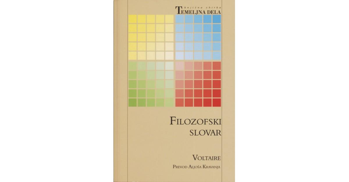 Filozofski slovar - Voltaire | Menschenrechtaufnahrung.org