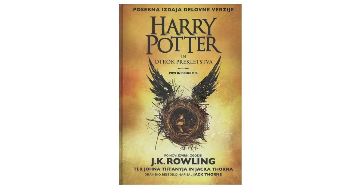 Harry Potter in otrok prekletstva - J. K. Rowling, Jack Thorne, John Tiffany | Menschenrechtaufnahrung.org