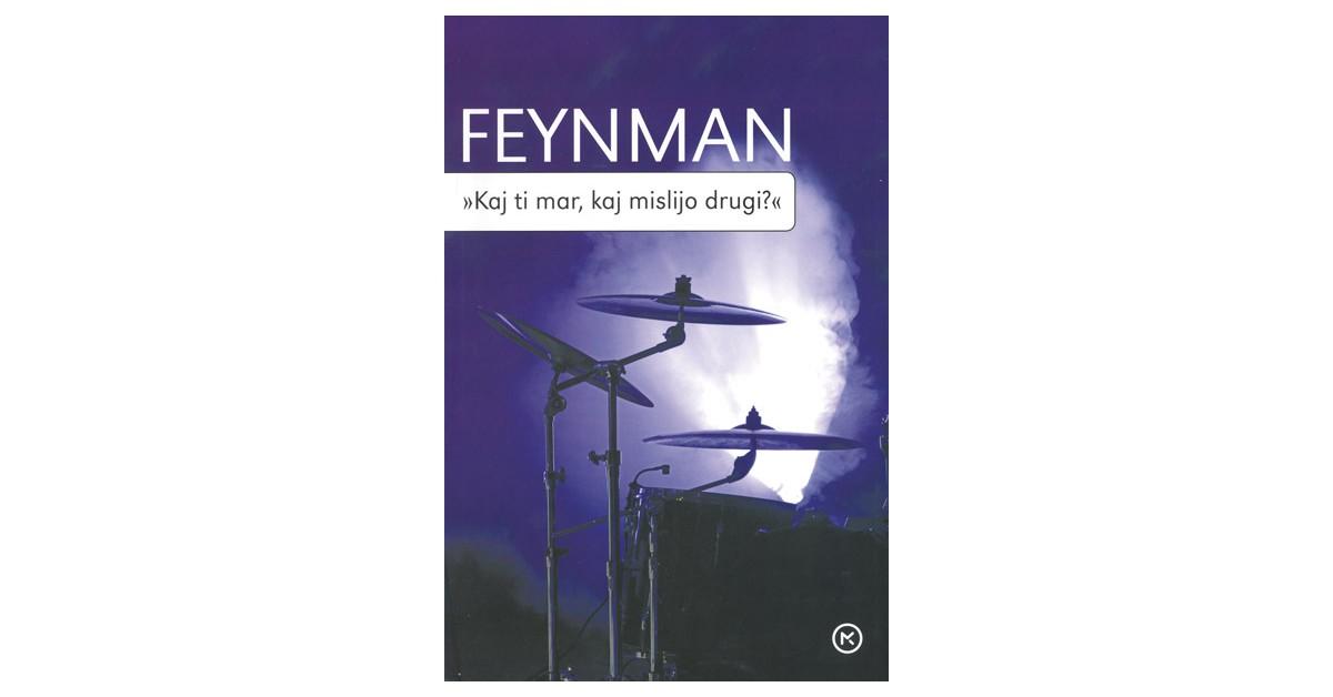 »Kaj ti mar, kaj mislijo drugi?« - Richard P. Feynman   Fundacionsinadep.org
