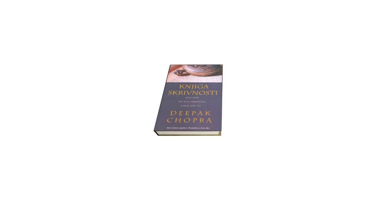 Knjiga skrivnosti - Deepak Chopra   Menschenrechtaufnahrung.org