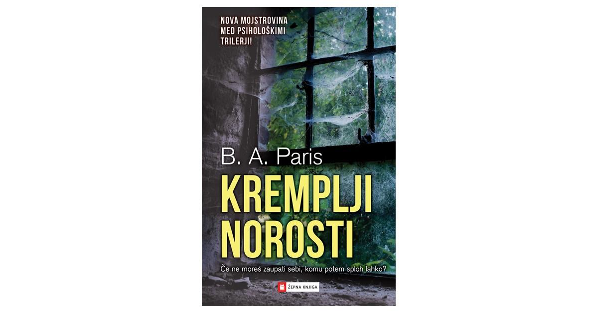 Kremplji norosti - B. A. Paris   Fundacionsinadep.org