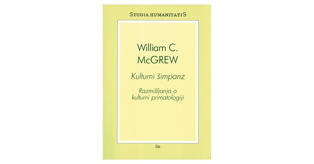 Kulturni šimpanz - William C. McGrew | Menschenrechtaufnahrung.org