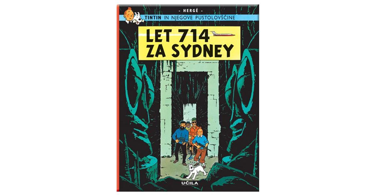 Let 714 za Sydney - Hergé | Menschenrechtaufnahrung.org