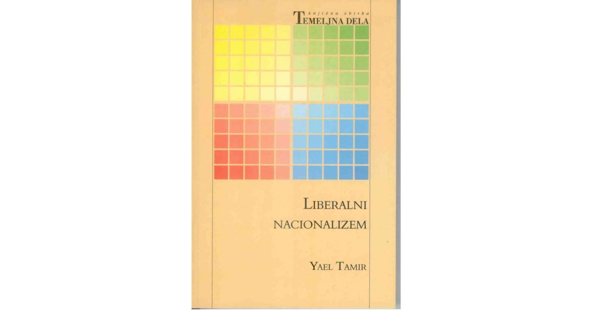 Liberalni nacionalizem - Yael Tamir   Fundacionsinadep.org