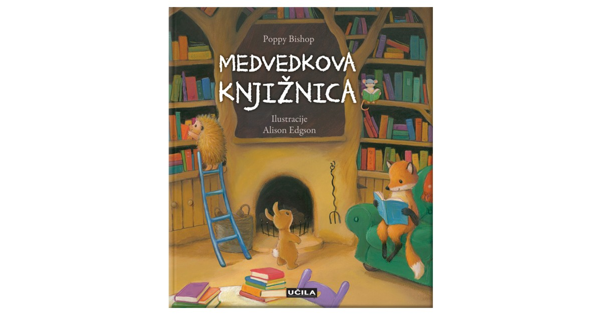 Medvedkova knjižnica - Poppy Bishop | Fundacionsinadep.org