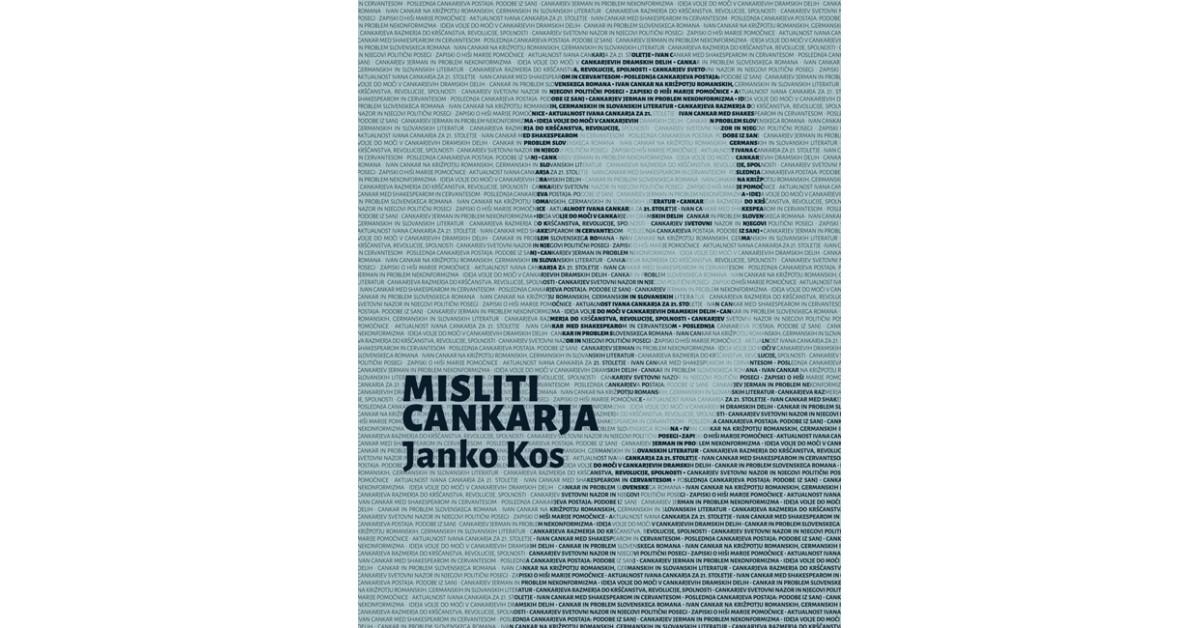 Misliti Cankarja - Janko Kos   Menschenrechtaufnahrung.org