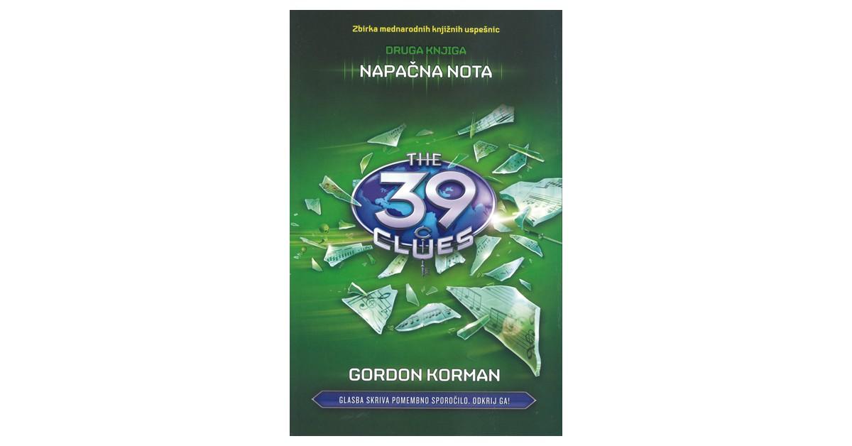 Napačna nota - Gordon Korman   Menschenrechtaufnahrung.org