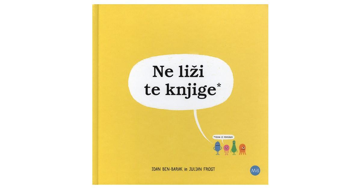 Ne liži te knjige* - Idan Ben-Barak | Fundacionsinadep.org