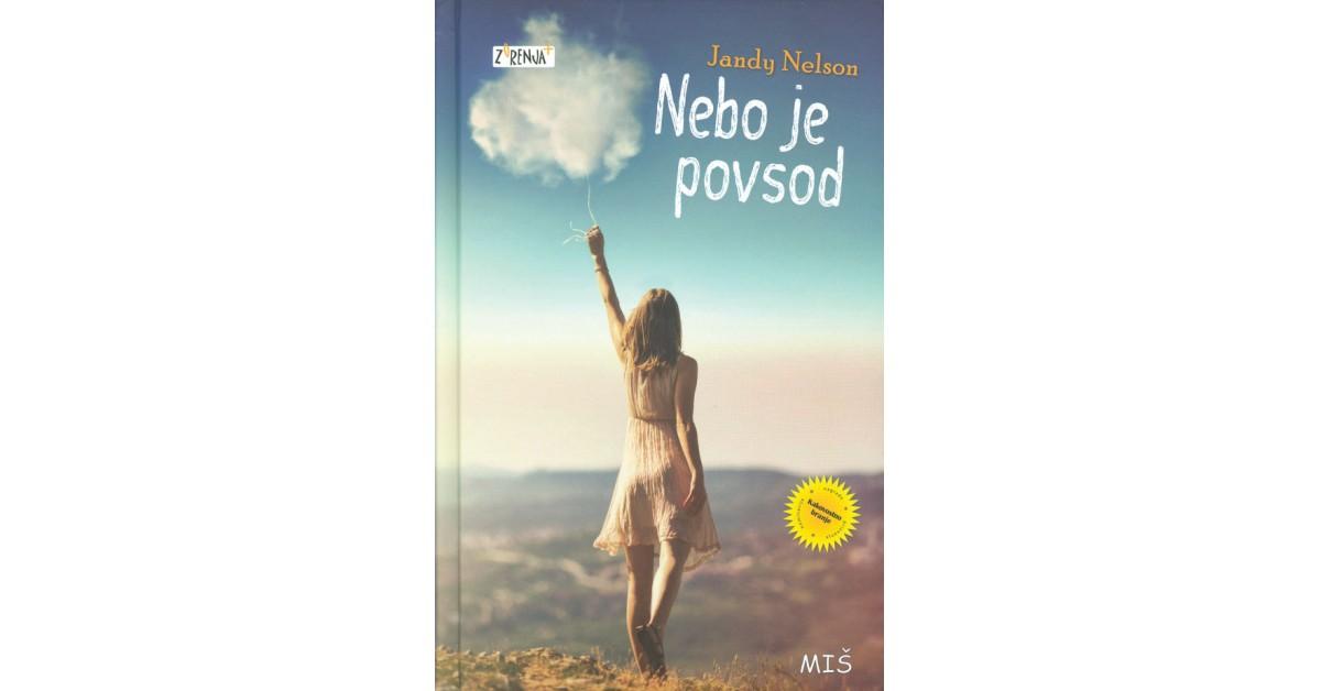 Nebo je povsod - Jandy Nelson | Menschenrechtaufnahrung.org