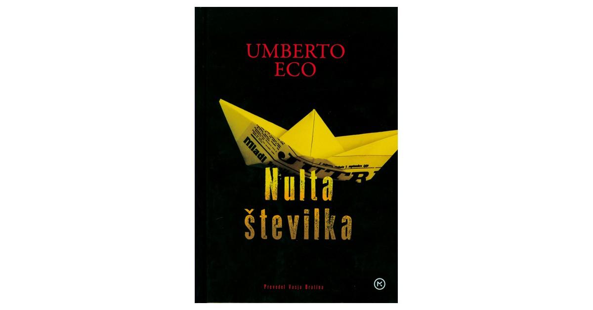 Nulta številka - Umberto Eco | Menschenrechtaufnahrung.org