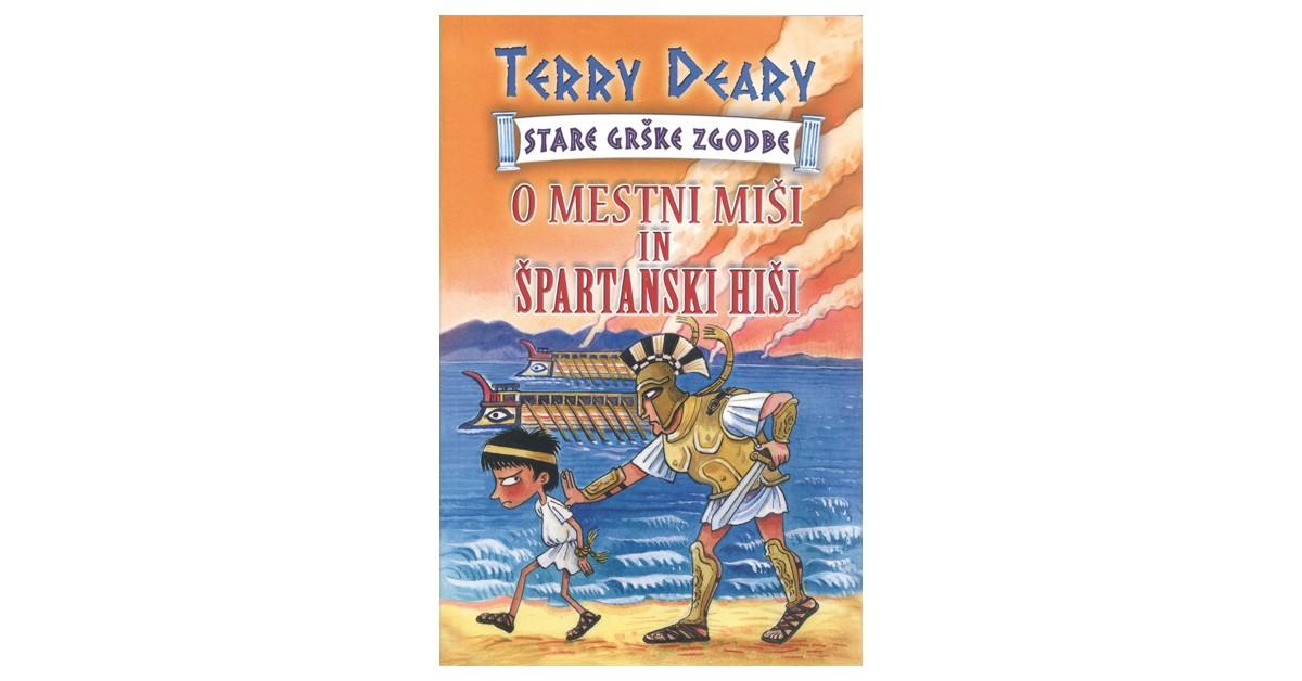 O mestni miši in špartanski hiši - Terry Deary   Fundacionsinadep.org