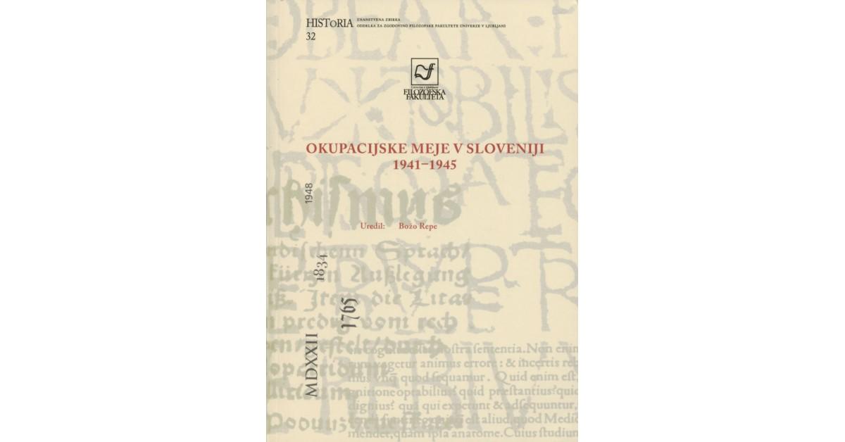 Okupacijske meje v Sloveniji 1941-1945