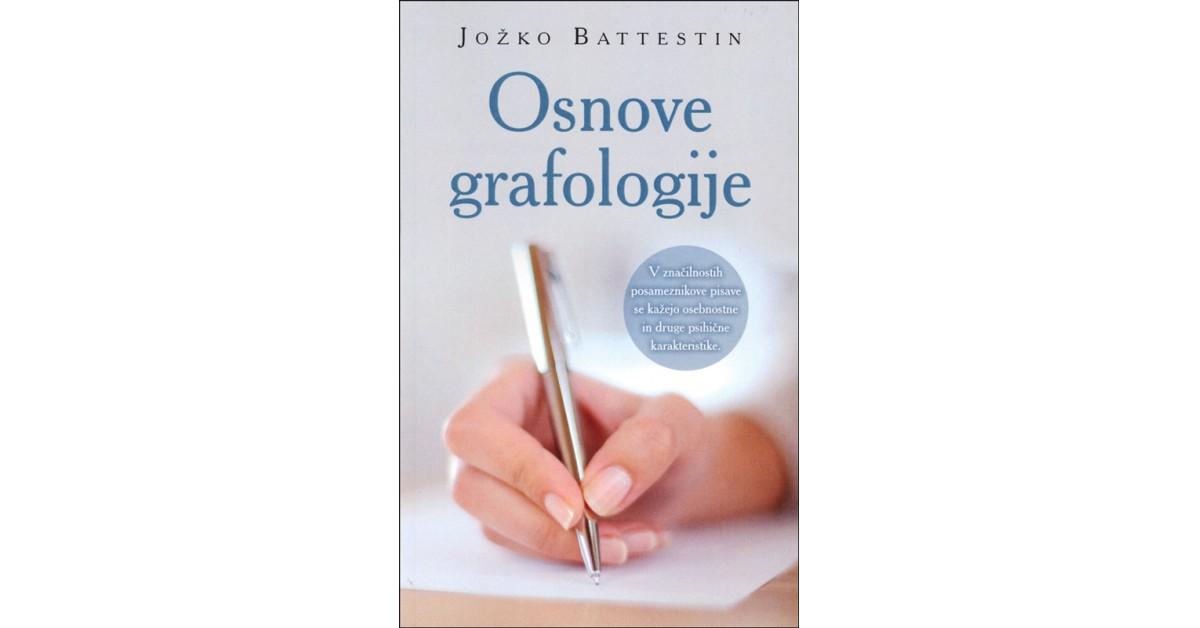 Osnove grafologije - Jožko Battestin | Menschenrechtaufnahrung.org