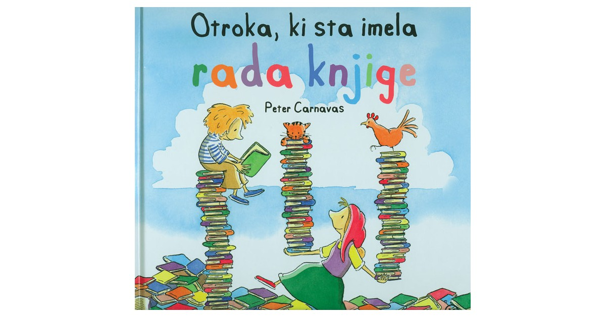 Otroka, ki sta imela rada knjige - Peter Carnavas   Menschenrechtaufnahrung.org