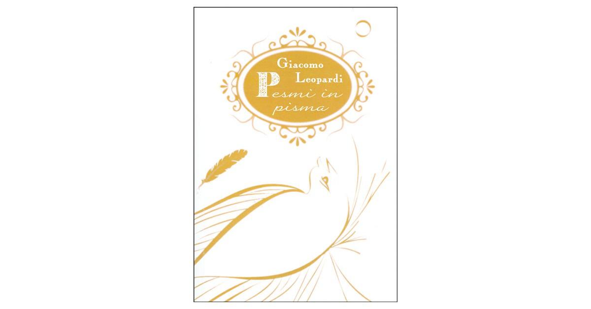 Pesmi in pisma - Giacomo Leopardi | Fundacionsinadep.org