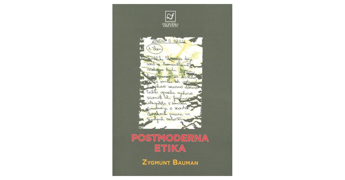 Postmoderna etika - Zygmunt Bauman   Menschenrechtaufnahrung.org