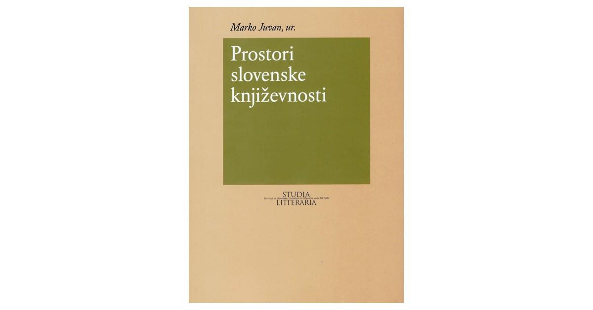 Prostori slovenske književnosti