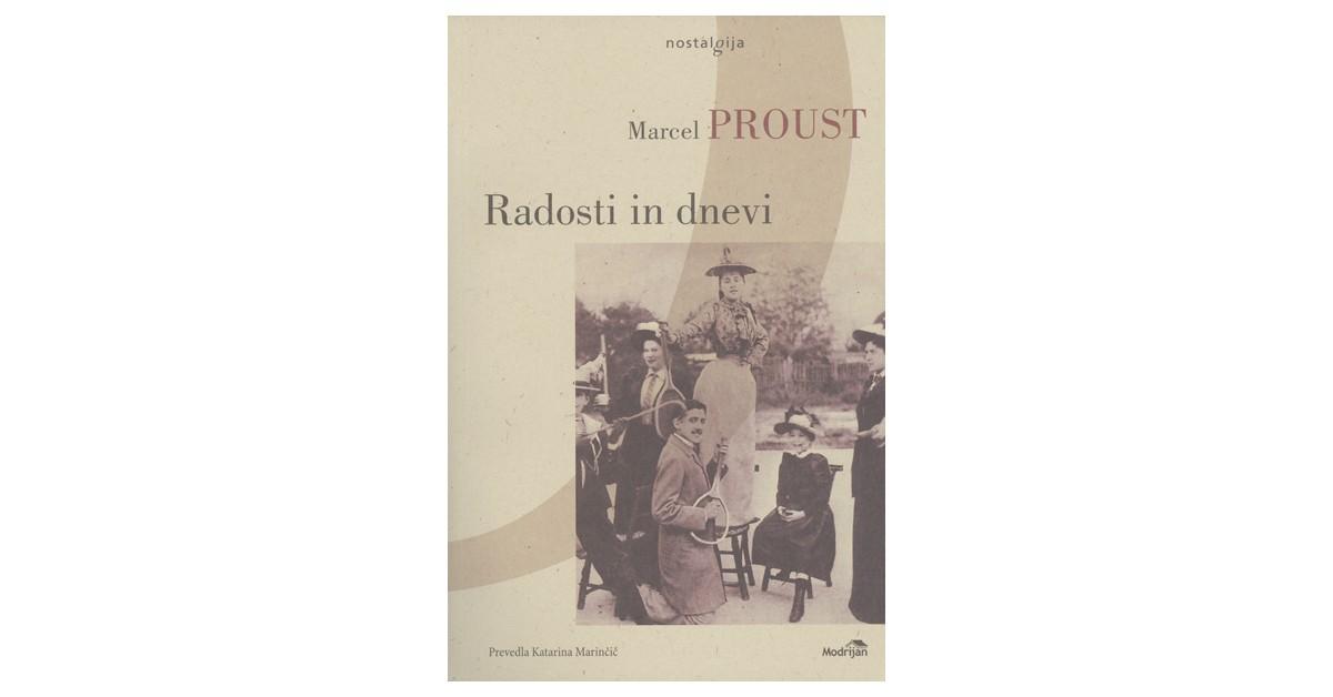 Radosti in dnevi - Marcel Proust | Fundacionsinadep.org