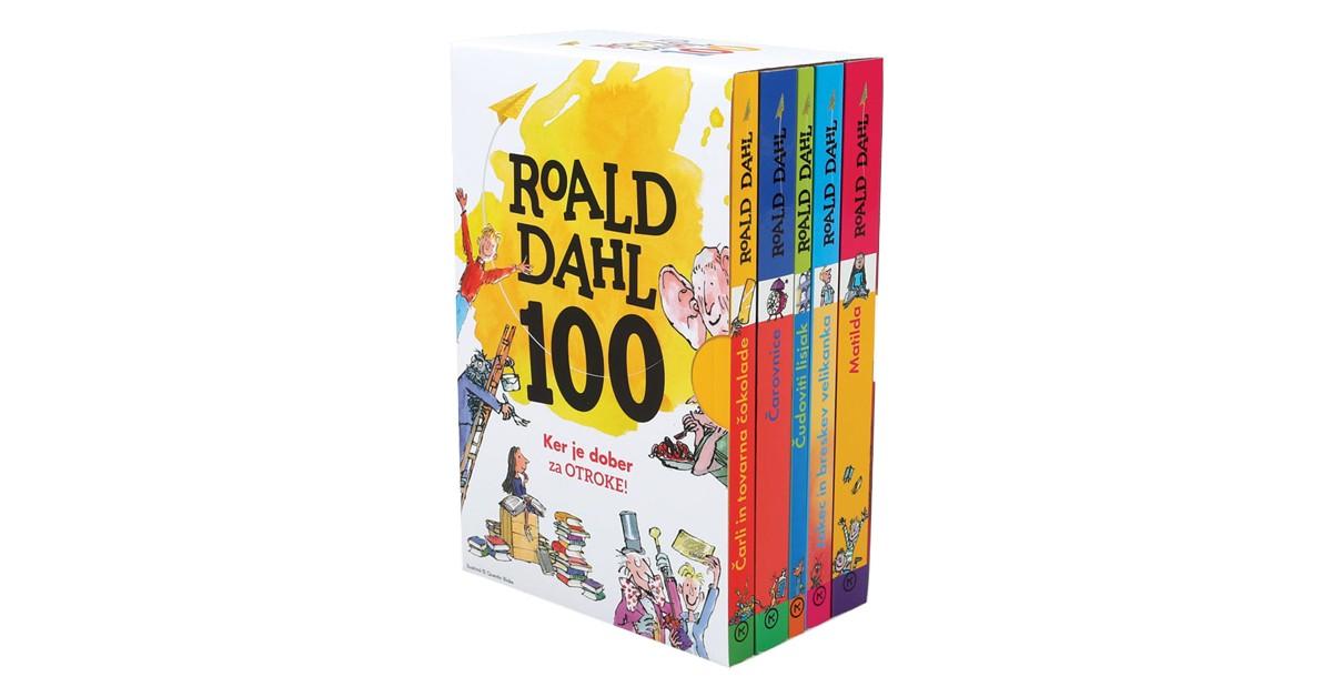 Roald Dahl - Jubilejni komplet - Roald Dahl | Fundacionsinadep.org