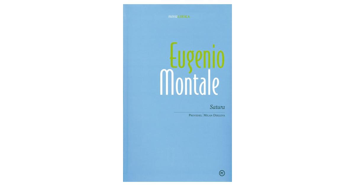 Satura - Eugenio Montale | Fundacionsinadep.org