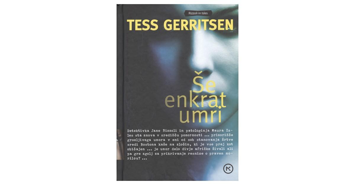 Še enkrat umri - Tess Gerritsen | Menschenrechtaufnahrung.org