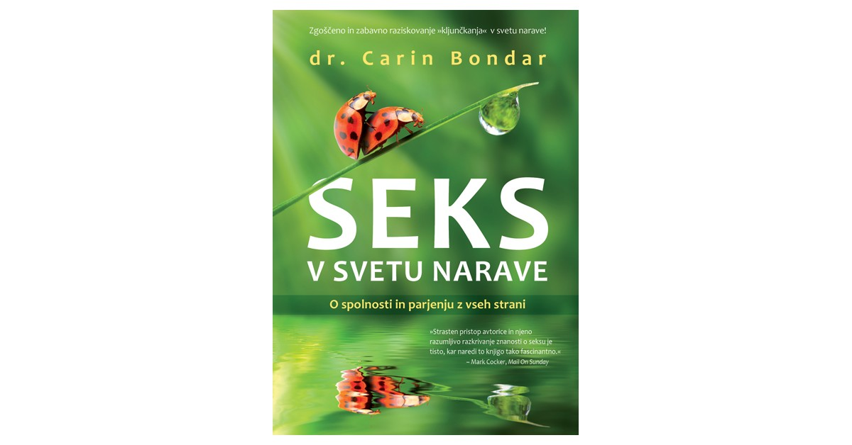 Seks v svetu narave - Carin Bondar   Menschenrechtaufnahrung.org