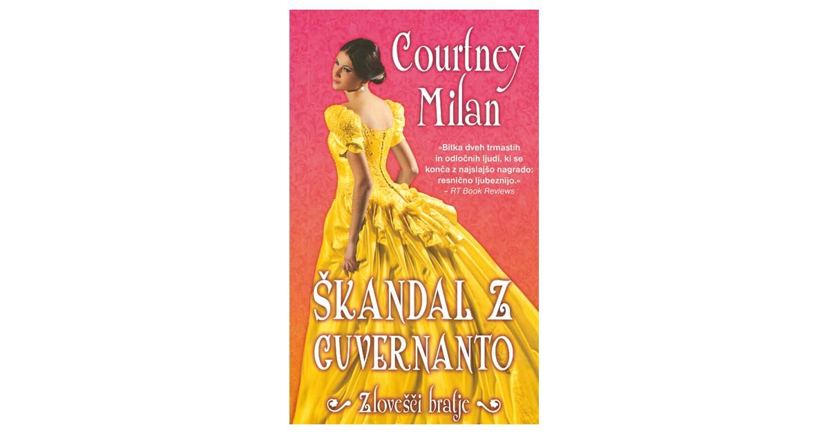 Škandal z guvernanto - Courtney Milan | Fundacionsinadep.org