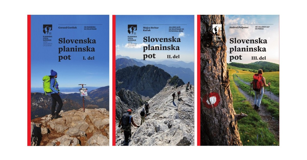 Slovenska planinska pot - komplet vodnikov - Gorazd Gorišek, Andraž Poljanec, Mojca Stritar Kučuk | Fundacionsinadep.org