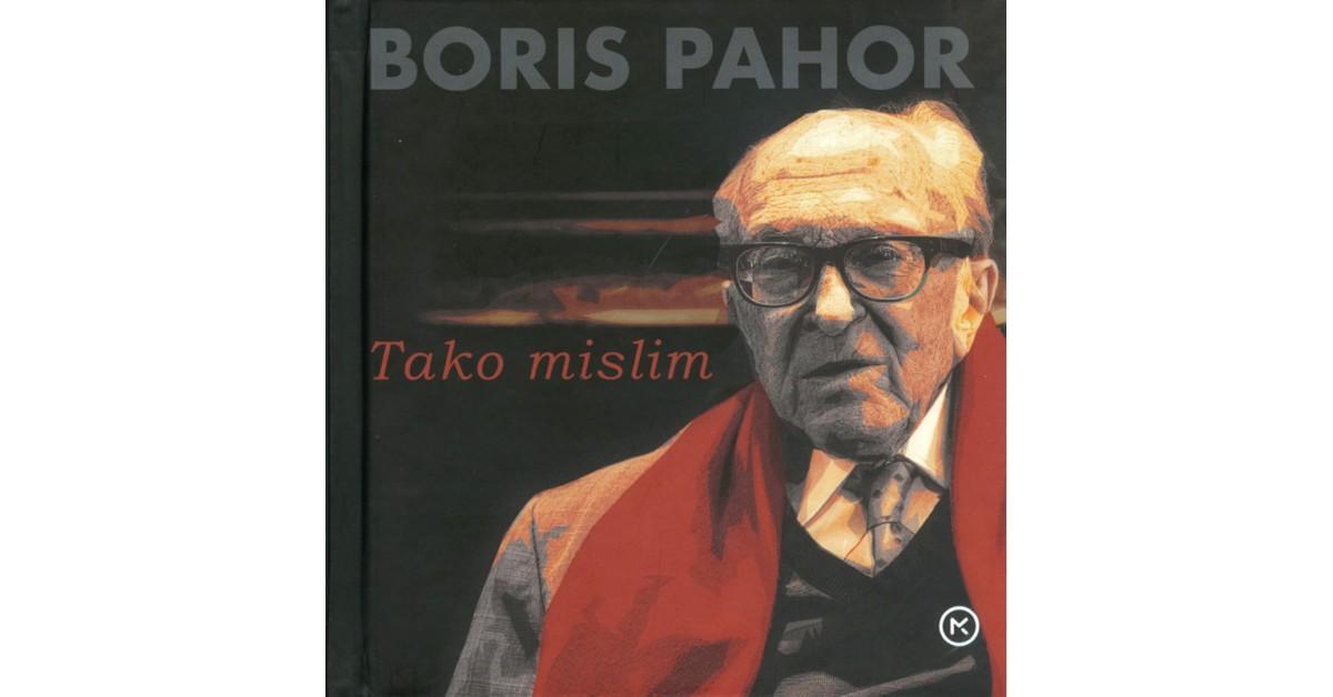 Tako mislim - Boris Pahor | Menschenrechtaufnahrung.org