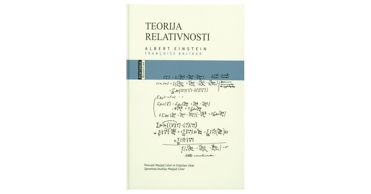 Teorija relativnosti - Françoise Balibar, Albert Einstein | Fundacionsinadep.org