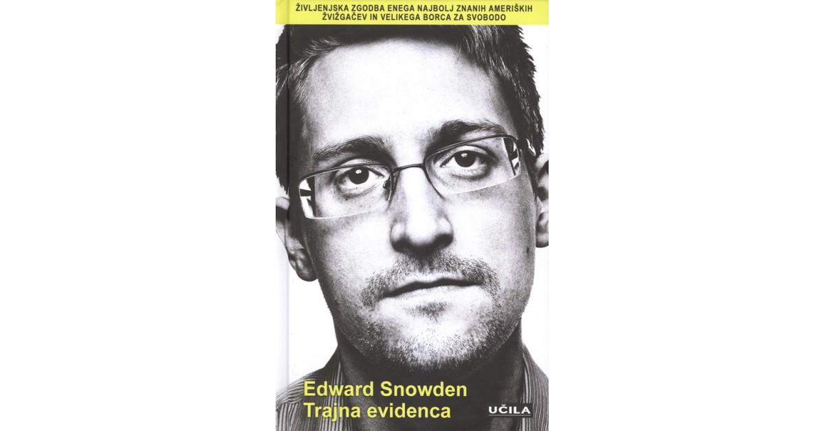 Trajna evidenca - Edward Snowden | Menschenrechtaufnahrung.org