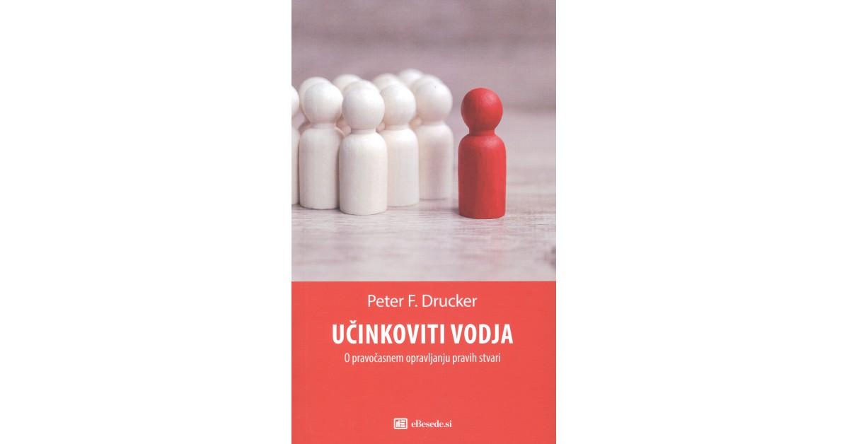 Učinkoviti vodja - Peter F. Drucker | Menschenrechtaufnahrung.org