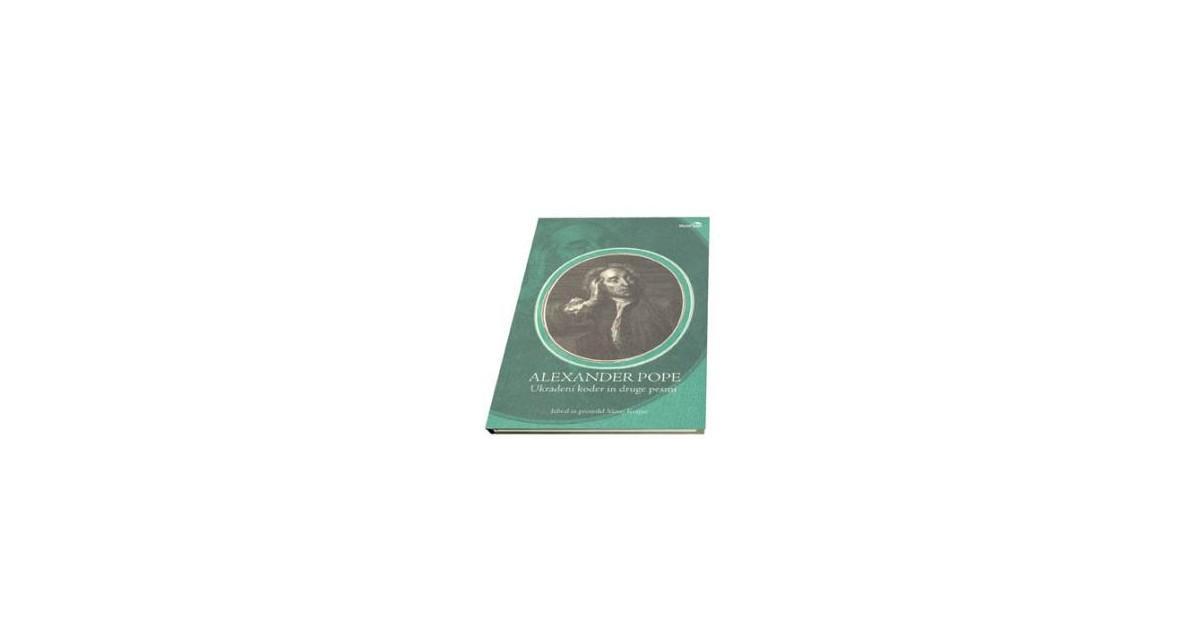 Ukradeni koder in druge pesmi - Alexander Pope | Fundacionsinadep.org