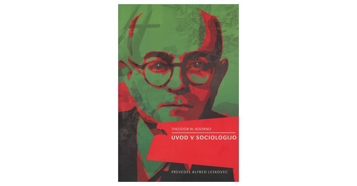 Uvod v sociologijo - Theodor W. Adorno | Fundacionsinadep.org