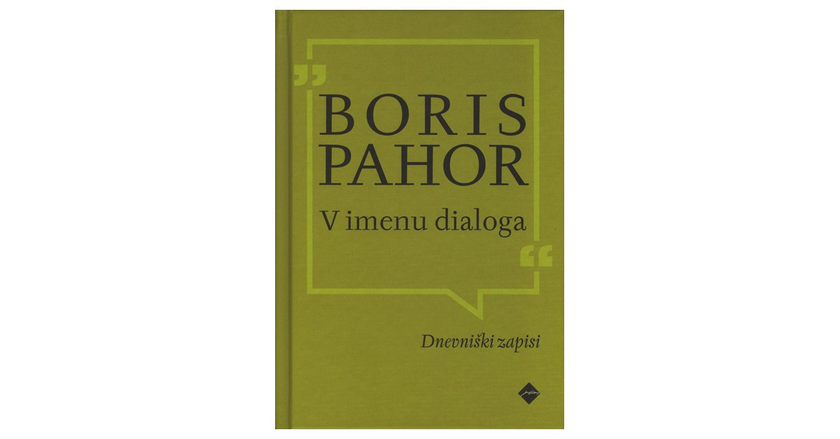 V imenu dialoga - Boris Pahor | Fundacionsinadep.org