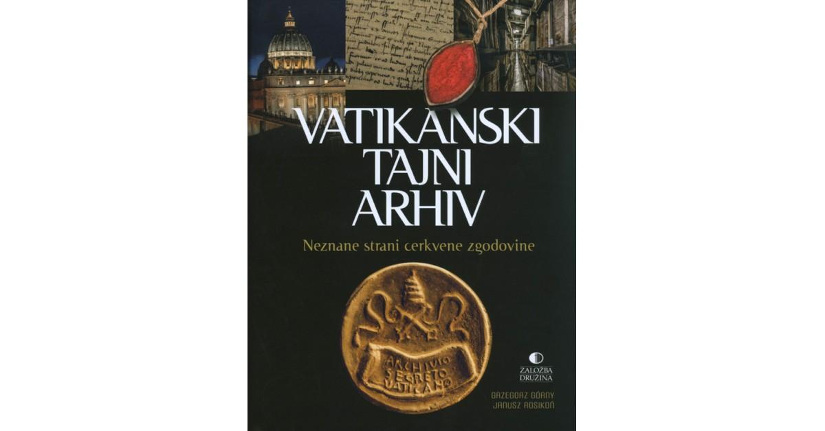 Vatikanski tajni arhiv - Grzegorz Górny | Menschenrechtaufnahrung.org
