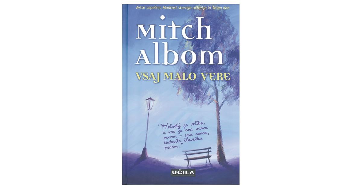 Vsaj malo vere - Mitch Albom | Menschenrechtaufnahrung.org