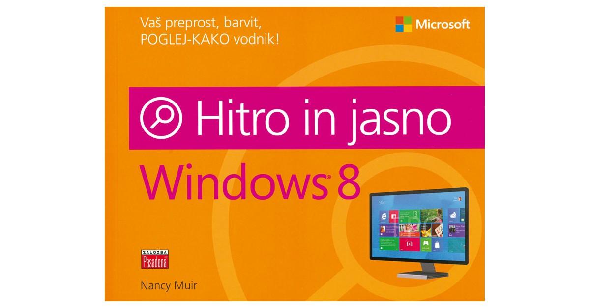 Windows 8, hitro in jasno - Nancy Muir | Menschenrechtaufnahrung.org