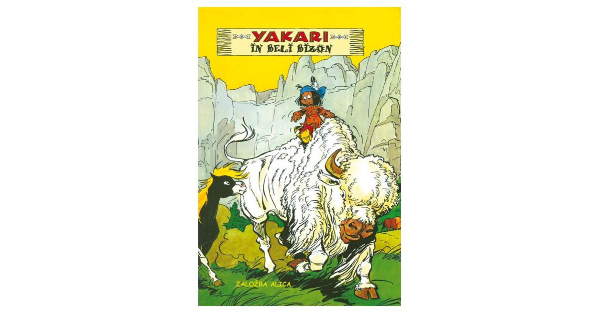 Yakari in Beli bizon - Derib, Job   Fundacionsinadep.org